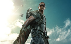 Falcon as seen in a character poster for CA:TWS