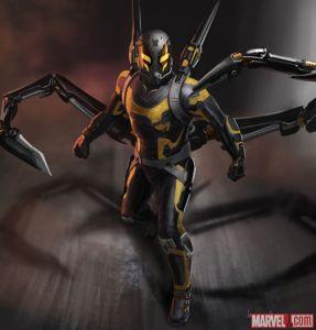 Yellowjacket concept art, courtesy of Marvel
